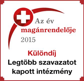 Az Év Magánrendelője 2015