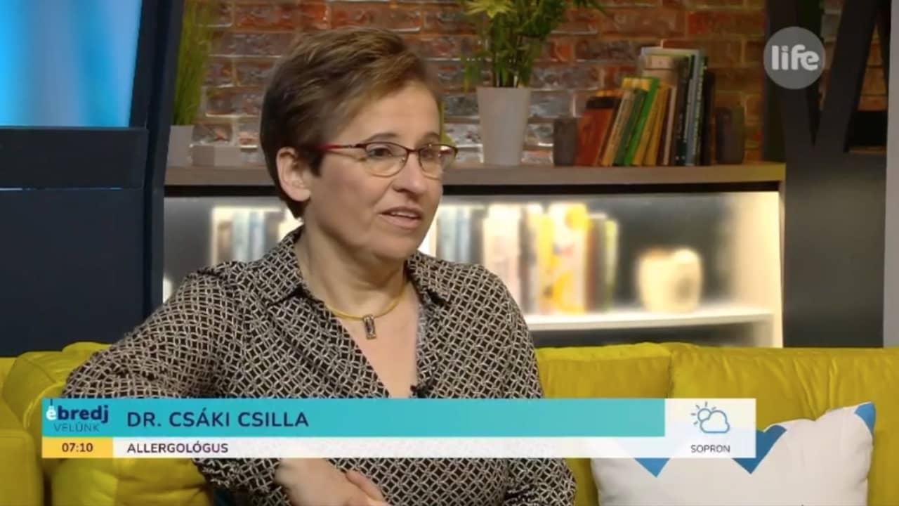 Dr Csáki Csilla LifeTV