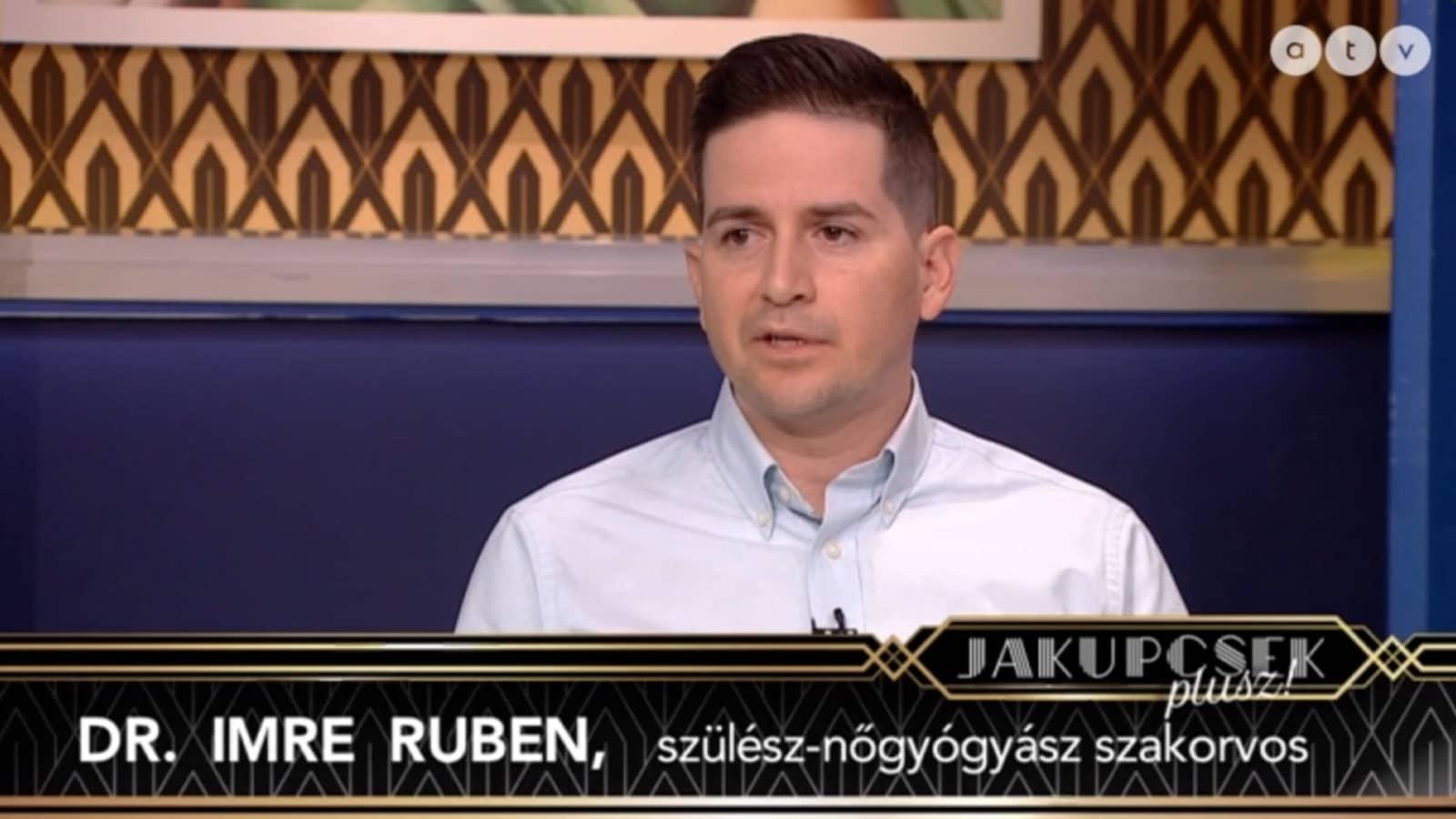 Dr Imre Ruben Jakupcsek Plusz